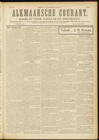 Alkmaarsche Courant 1917-01-19