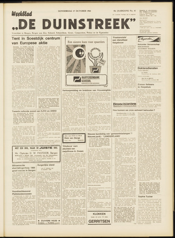 De Duinstreek 1966-10-27