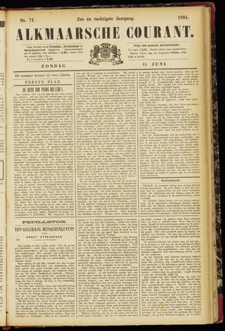 Alkmaarsche Courant 1884-06-15