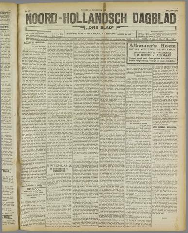 Ons Blad : katholiek nieuwsblad voor N-H 1921-11-18