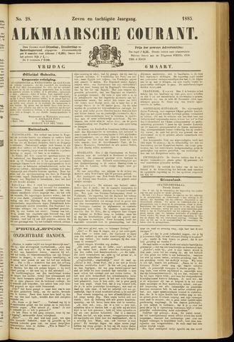 Alkmaarsche Courant 1885-03-06