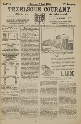 Texelsche Courant 1923-06-09