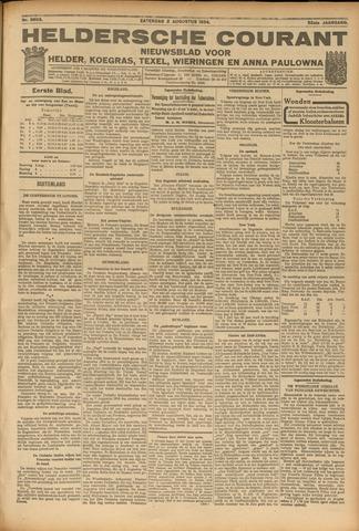 Heldersche Courant 1924-08-02