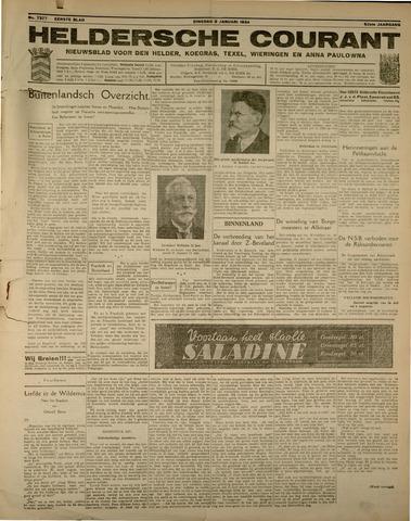 Heldersche Courant 1934-01-09
