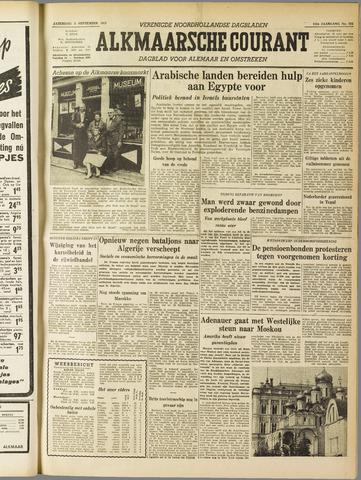 Alkmaarsche Courant 1955-09-03