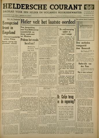Heldersche Courant 1939-08-25