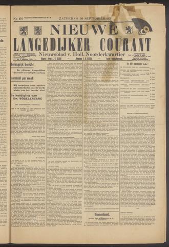 Nieuwe Langedijker Courant 1933-09-30