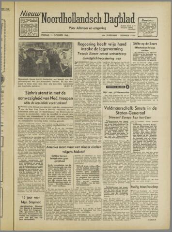 Nieuw Noordhollandsch Dagblad : voor Alkmaar en omgeving 1946-10-11