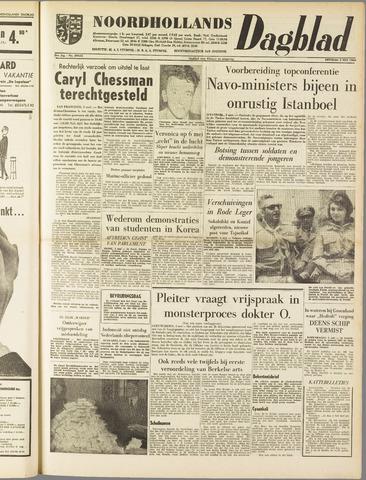 Noordhollands Dagblad : dagblad voor Alkmaar en omgeving 1960-05-03