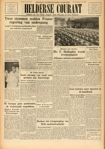 Heldersche Courant 1954-05-14