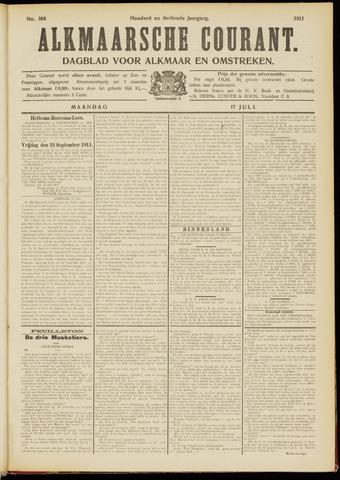 Alkmaarsche Courant 1911-07-17