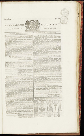 Alkmaarsche Courant 1834-04-21