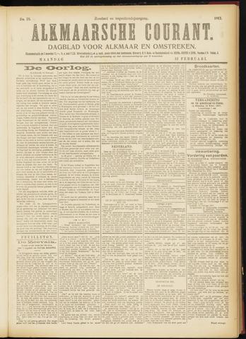 Alkmaarsche Courant 1917-02-12