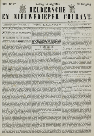 Heldersche en Nieuwedieper Courant 1870-08-14