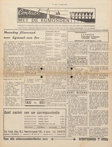 Contact met de Egmonden 1965-03-11