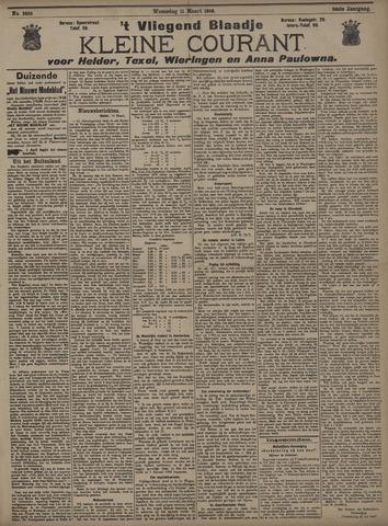 Vliegend blaadje : nieuws- en advertentiebode voor Den Helder 1908-03-11