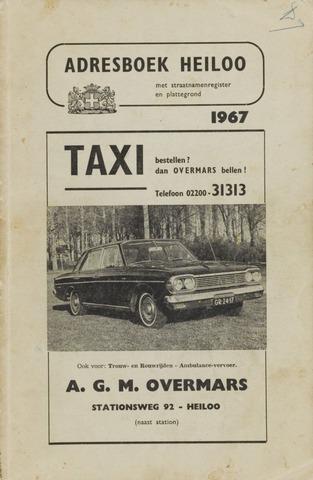 Adresboek van Heiloo 1967-01-01