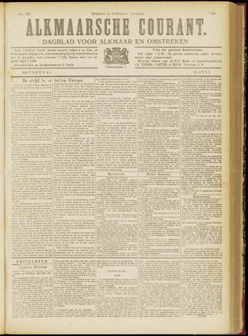 Alkmaarsche Courant 1918-07-25