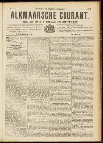 Alkmaarsche Courant 1907-06-06