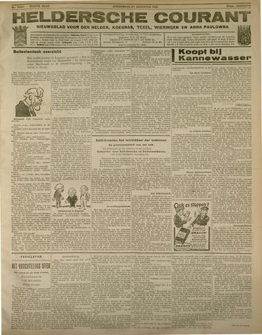 Heldersche Courant 1931-08-27