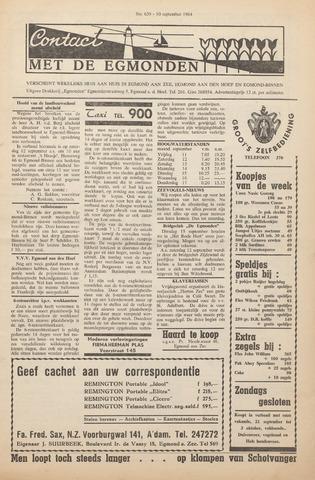 Contact met de Egmonden 1964-09-10