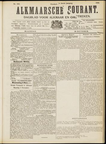 Alkmaarsche Courant 1908-10-26