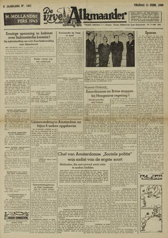 De Vrije Alkmaarder 1949-02-11