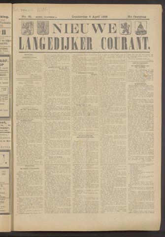 Nieuwe Langedijker Courant 1922-04-06