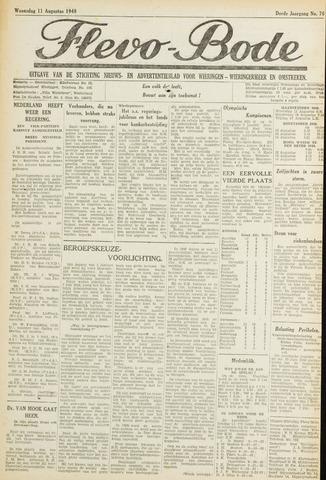 Flevo-bode: nieuwsblad voor Wieringen-Wieringermeer 1948-08-11