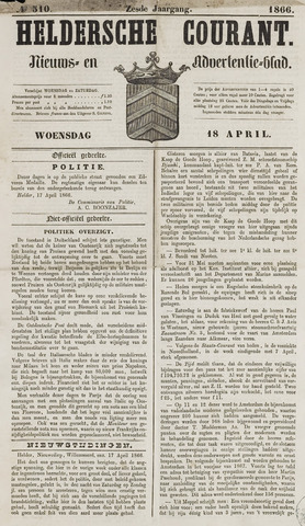 Heldersche Courant 1866-04-18