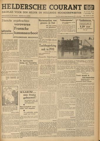 Heldersche Courant 1940-12-03