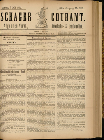Schager Courant 1889-07-07