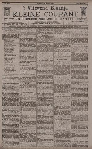 Vliegend blaadje : nieuws- en advertentiebode voor Den Helder 1895-02-13