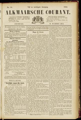 Alkmaarsche Courant 1883-02-11