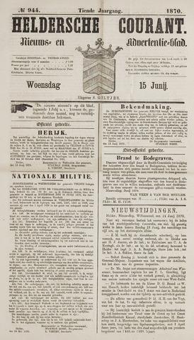 Heldersche Courant 1870-06-15