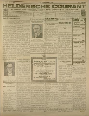 Heldersche Courant 1933-09-05