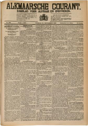 Alkmaarsche Courant 1930-09-26