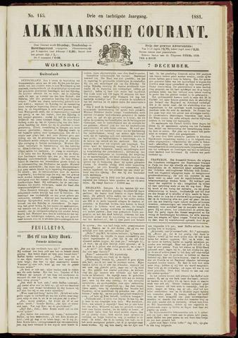 Alkmaarsche Courant 1881-12-07