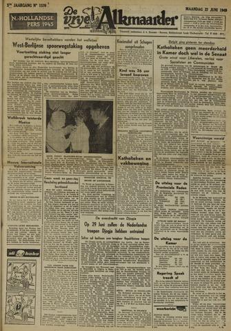 De Vrije Alkmaarder 1949-06-27