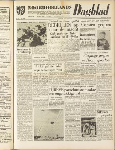 Noordhollands Dagblad : dagblad voor Alkmaar en omgeving 1958-05-27