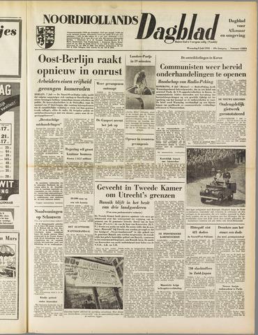 Noordhollands Dagblad : dagblad voor Alkmaar en omgeving 1953-07-08