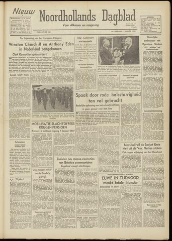 Nieuw Noordhollandsch Dagblad : voor Alkmaar en omgeving 1948-05-07