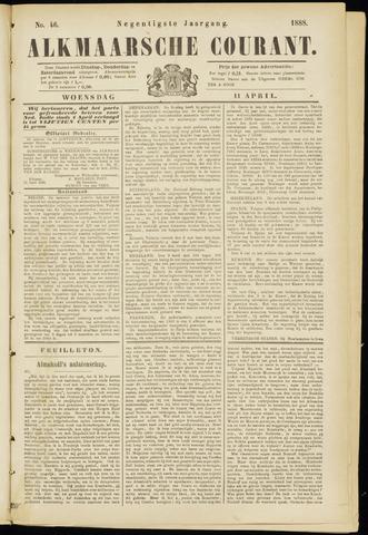 Alkmaarsche Courant 1888-04-11
