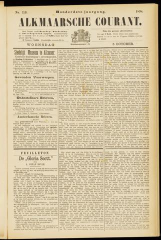 Alkmaarsche Courant 1898-10-05