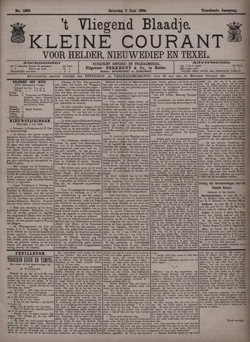 Vliegend blaadje : nieuws- en advertentiebode voor Den Helder 1886-07-03