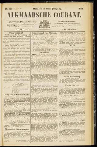 Alkmaarsche Courant 1901-09-22