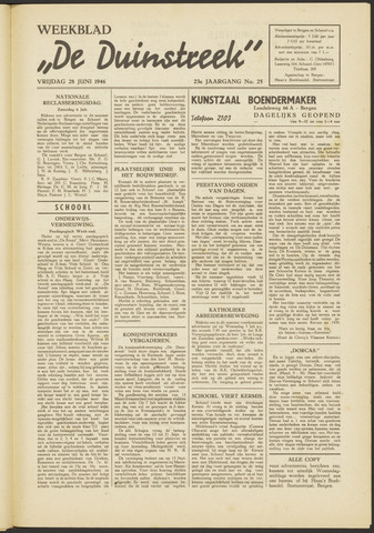 De Duinstreek 1946-06-28