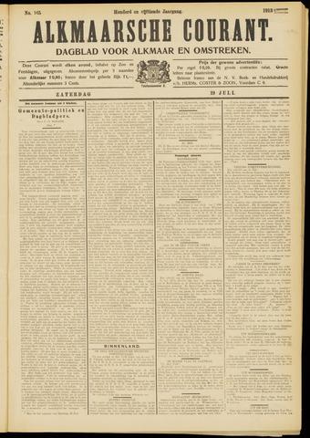 Alkmaarsche Courant 1913-07-19