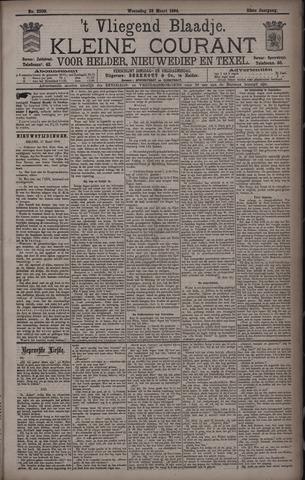 Vliegend blaadje : nieuws- en advertentiebode voor Den Helder 1894-03-28