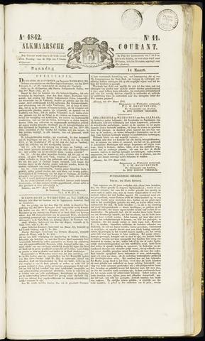 Alkmaarsche Courant 1842-03-14